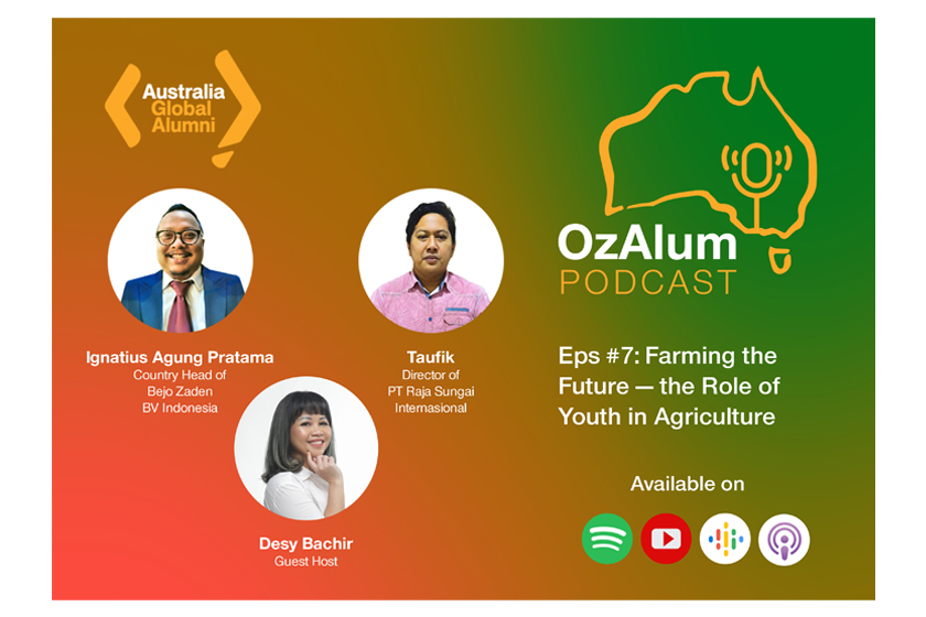 OzAlum Podcast Eps #7: Farming the Future – the Role of Youth in Agriculture