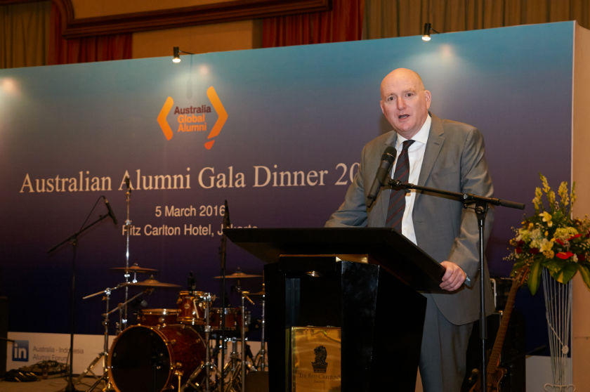Australian Ambassador to Indonesia welcomes Gala Dinner attendees