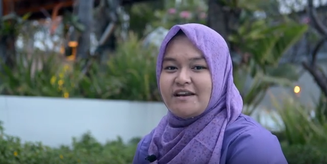 Frieska Ayu Pamela, Short Term Award Alumnus