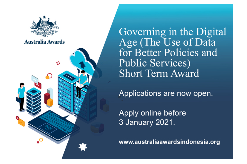 Applications Open for the Governing in the Digital Age (The Use of Data for Better Policies and Public Services) Short Term Award