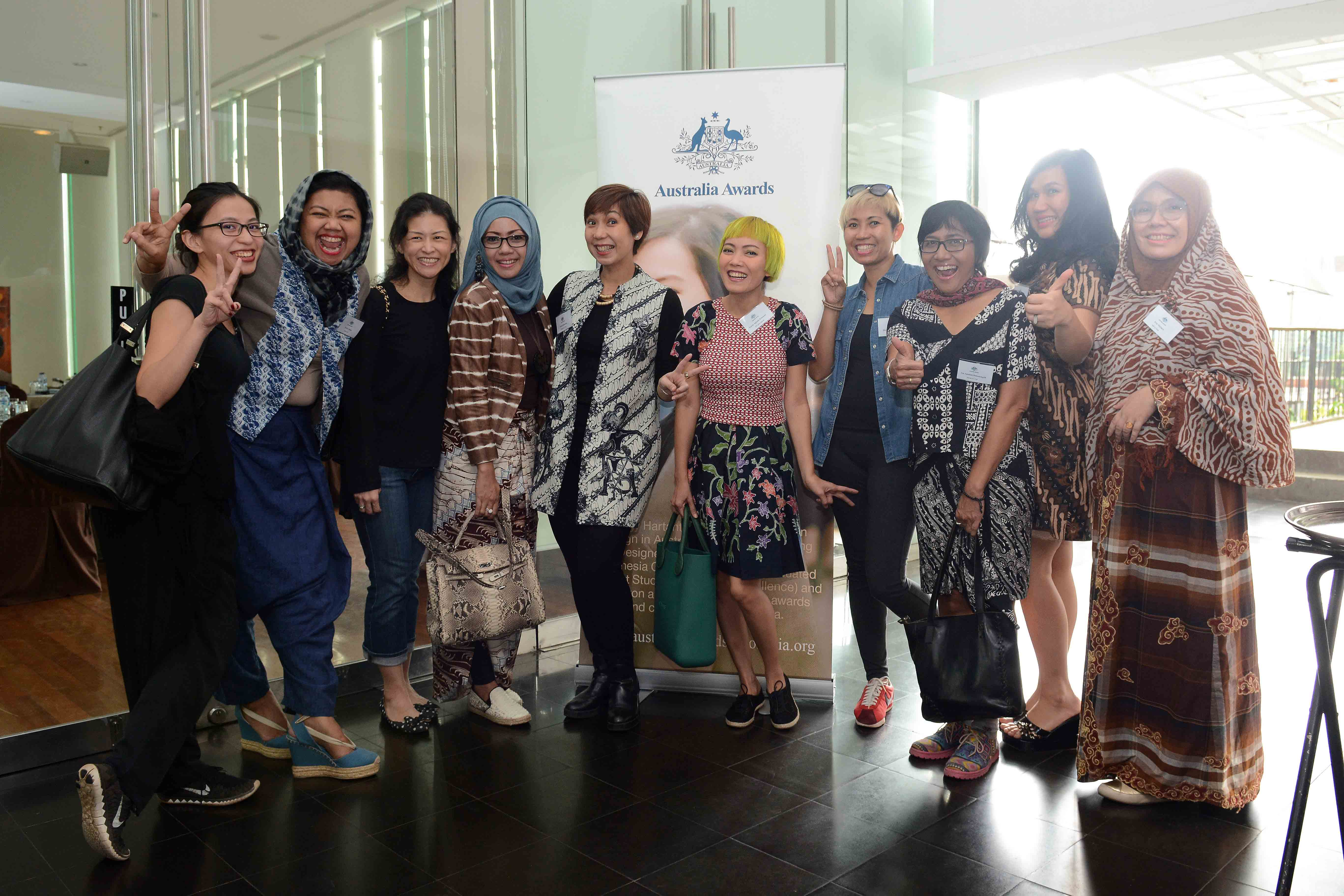 Participants of Women in Global Business:  International Business Readiness – A Course for the Fashion and Textiles Sector