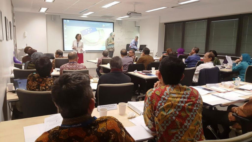 Participants of Good practices in Optimising Business Processes and the Policy course in Australia