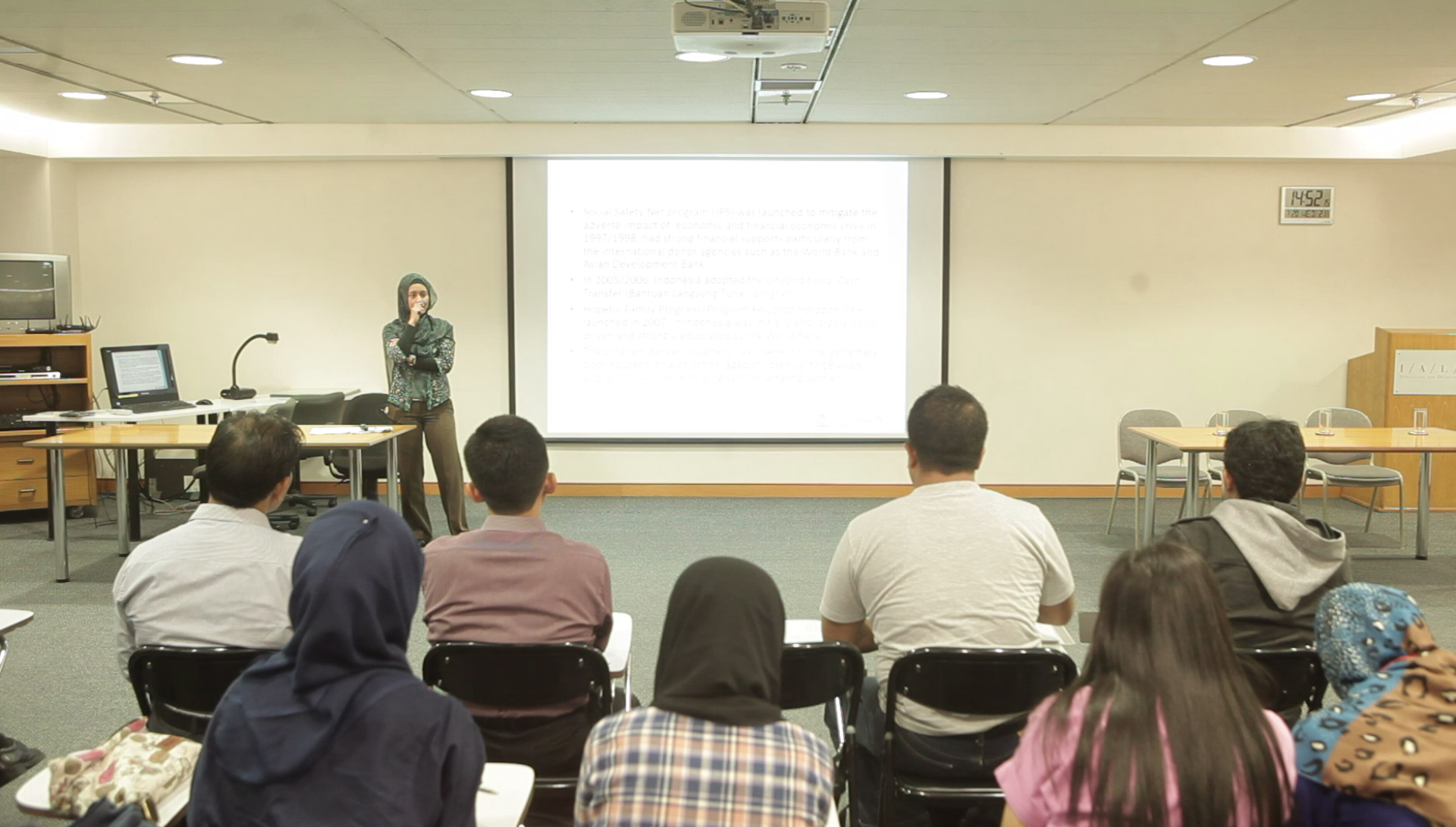 Dr Riyana Miranti's Lecture on Evaluating effectiveness of targeting: Lessons from social protection programs aimed to children, 20 July 2016
