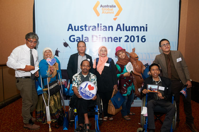 DPO leaders attended Australian Alumni Gala Dinner 2016