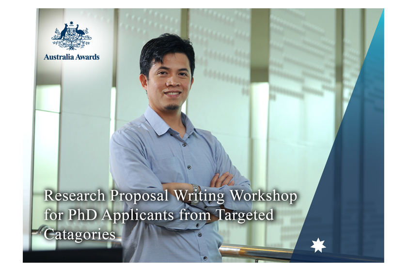 "Applications Open for ""Research Proposal Writing Workshop""!"