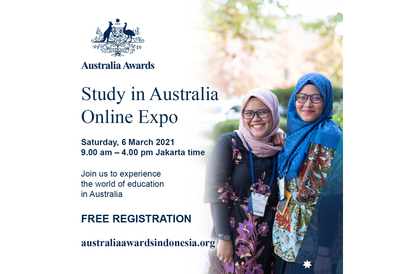Join Us at the Study in Australia Online Expo on 6 March