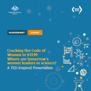 """TED-Inspired Presentation: """"Cracking the Code of Women in STEM: Where are tomorrow's women leaders in science?"""""""