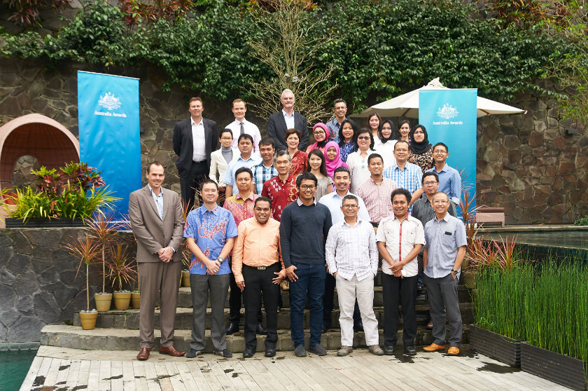 Participants of the Transformational Business Leadership Course